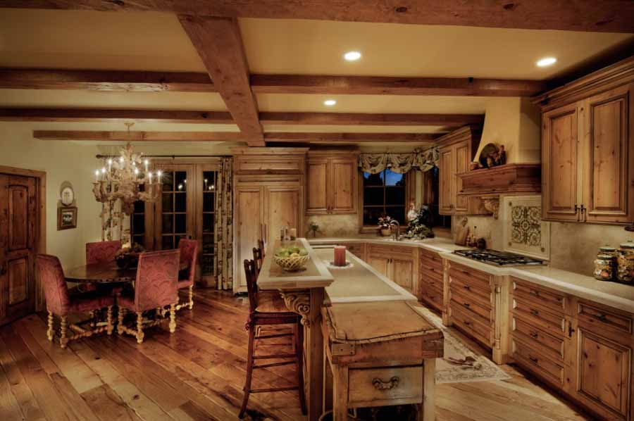 Genesee european traditional home remodel landmark for Traditional european kitchen
