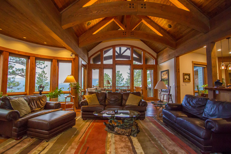 Genesee Mountain Traditional Home Landmark Luxury Homes